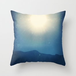Glimpse of Summer  Throw Pillow