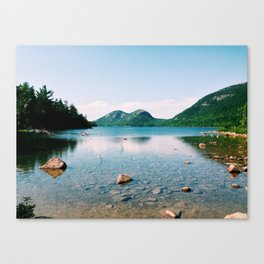 Jordan Pond - Acadia National Park Canvas Print