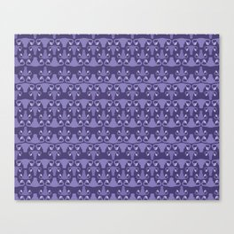 Uterus Purple Design Canvas Print