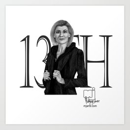 13th Doctor Art Print