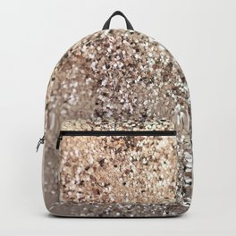 Sparkling GOLD Lady Glitter #1 #decor #art #society6 Backpack