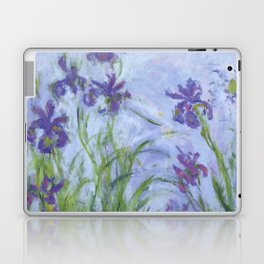 "Claude Monet ""Iris mauves"" Laptop & iPad Skin"
