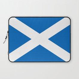 flag of scotland – scotland,scot,scottish,Glasgow,Edinburgh,Aberdeen,dundee,uk,cletic,celts,Gaelic Laptop Sleeve