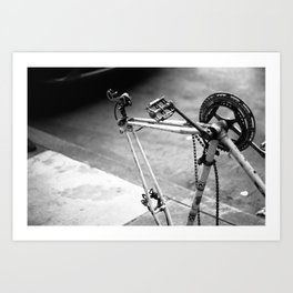 What once was a trusty steed.. Art Print