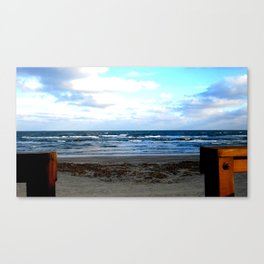 The Lifeguard's View Canvas Print