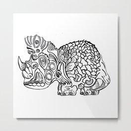 TriTortisaur Metal Print