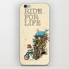 ride iPhone & iPod Skin