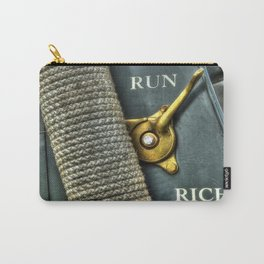 Abstract Automotive Carry-All Pouch