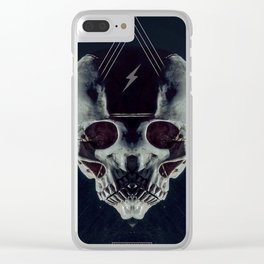 Triskull Clear iPhone Case