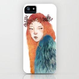 Berries Crown Girl iPhone Case