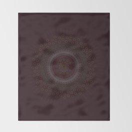 Abstract Zen Mandala Throw Blanket