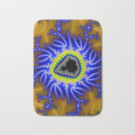 Demon's Eye Fractal Bath Mat