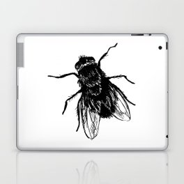 Drawing house-fly Laptop & iPad Skin