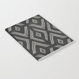 Birch in Black and White Notebook