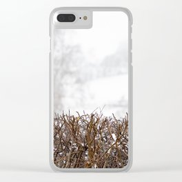 Surviving. Clear iPhone Case