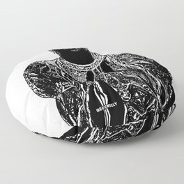 Biggie Biggie Biggie Floor Pillow