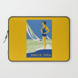Dolce Vita Jazz Age Summer Travel Laptop Sleeve