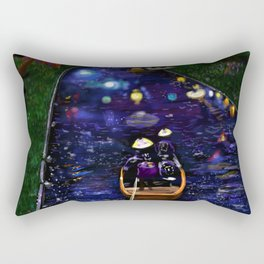 Dreamy river Rectangular Pillow