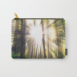 Sunshine in forest Carry-All Pouch