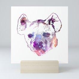Space Hyena Mini Art Print