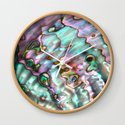 Glowing Cotton Candy Pink & Green Abalone Mother of Pearl by themermaidlagoon