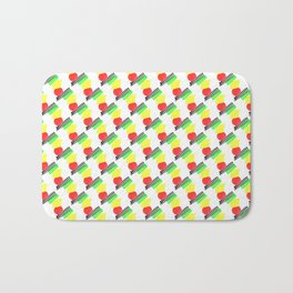 1907 Lunchmeat pattern Bath Mat