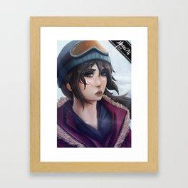 Rise of the Tomb Raider Framed Art Print