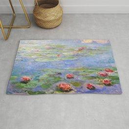 Claude Monet's Water Lilies Rug