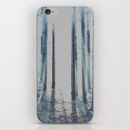 Watercolor Forest iPhone Skin