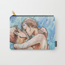 lovers in the rain Carry-All Pouch