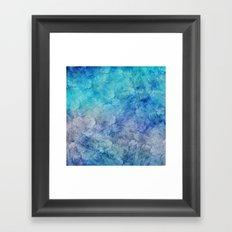 Frozen Leaves 13 Framed Art Print