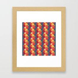 Rosie Stripes Framed Art Print