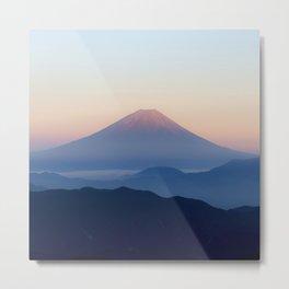 Mt. Fuji, Japan Metal Print