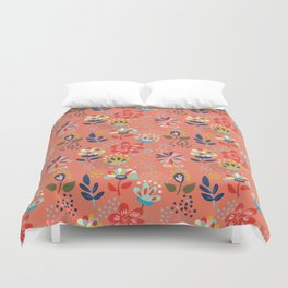 Pretty Floral Duvet Cover