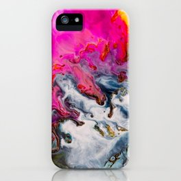 Abstract Melt XII iPhone Case