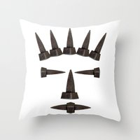 ironman Throw Pillows featuring Ironman by siloto
