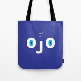 Evil eye minimalist print Tote Bag