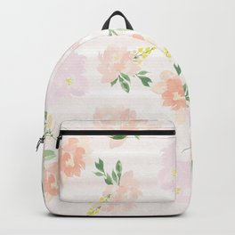 Gigi Collection - Peach Peony Backpack