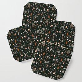 Autumn feeling pattern Coaster