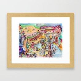 Grand Cranyon Framed Art Print