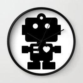 Cute Robot Wall Clock