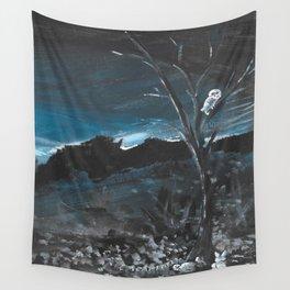 Knight Owl II Wall Tapestry
