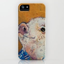 Little Piggy iPhone Case