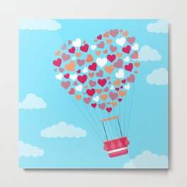 Hot Balloon Metal Print
