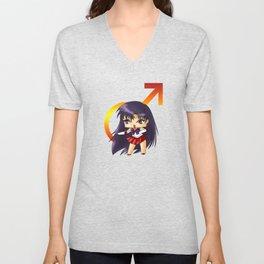 Sailor Mars Unisex V-Neck