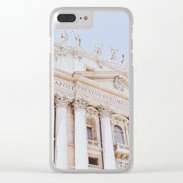 Vatican 01 Clear iPhone Case