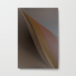 Abstract Papers II Metal Print