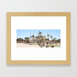 Temple of Luxor, no. 16 Framed Art Print