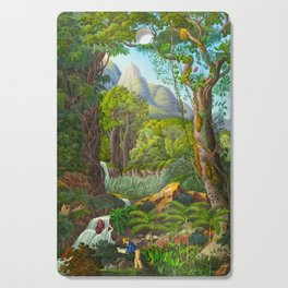 Historia naturalis palmarum - Carl Friedrich Philipp von Martius - c.1836-1850 Cutting Board