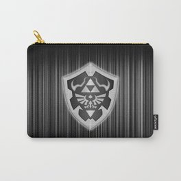 Zelda Shield Triforce Carry-All Pouch